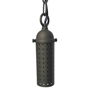 Find a Glossop 1-Light Outdoor Pendant (Set of 2) By Williston Forge