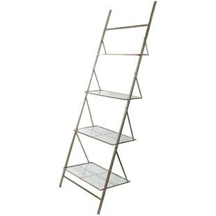 Ladder Style 4-Tier Metal 94 H x 18 W Storage Rack By Benzara
