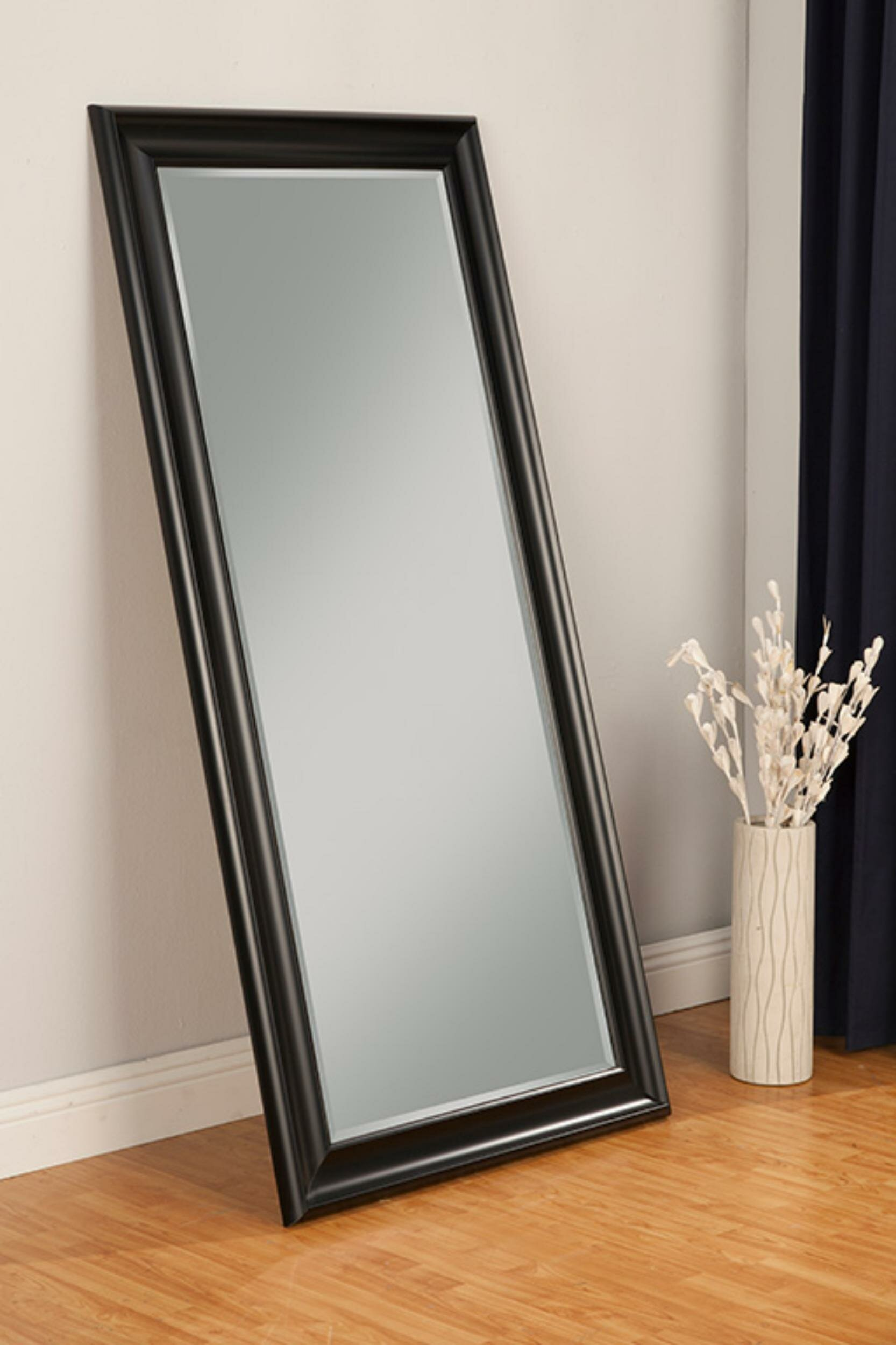 Winston Porter Mccants Beveled Full Length Mirror Wayfair