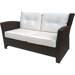 ElanaMar Designs Sonoma Loveseat with Sunbrella Cushions