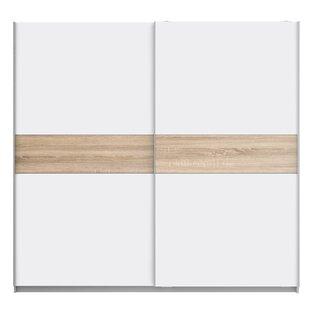 2 Door Sliding Wardrobe By Ebern Designs