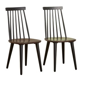 Dalaigh Solid Wood Dining Chair (Set of 2..