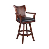 Gulbranson Swivel 30 Bar Stool by Canora Grey