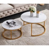 St James Frame 2 Nesting Tables by Everly Quinn