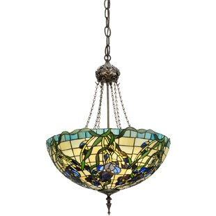 Meyda Tiffany Tiffany Nouveau Iris Inverted Pendant