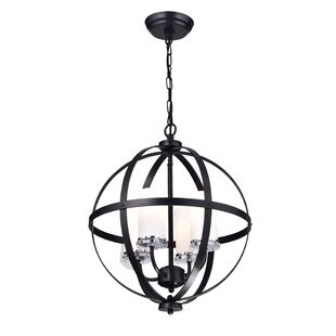 Darby Home Co Brook Hollow 4-Light Chande..