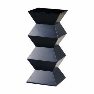 Orbit Pedestal End Table