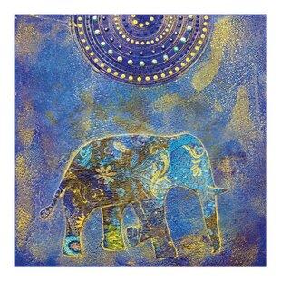 Elephant Semi Gloss Wallpaper Roll