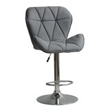 Garett Adjustable Height Swivel Bar Stool by Brayden Studio®