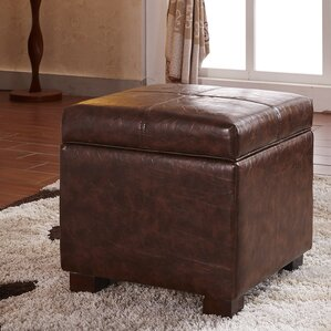 Premium Storage Ottoman by Bellasario Collection