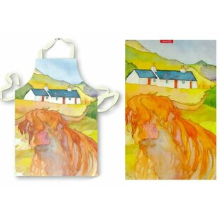 Household Supplies & Cleaning Emma Ball Clearance Price Home & Garden Fine Highland Cow Tea Towel