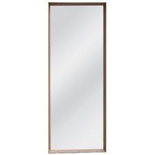 Wall Full Length Mirror modern wall mounted floor + full length mirrors | allmodern