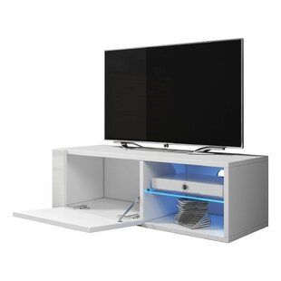 Liberal Best Matte Body High Gloss Doors TV Stand for TVs up to 44 by Orren Ellis