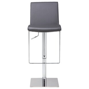 Inexpensive Braxton Adjustable Height Swivel Bar Stool by Orren Ellis Reviews (2019) & Buyer's Guide