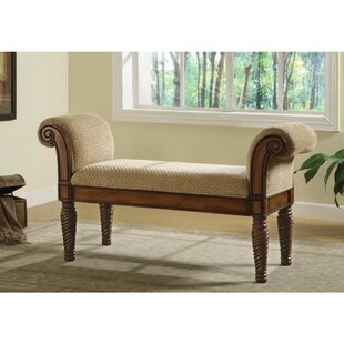 Krogman Robust Upholstered Bench by Bayou Breeze