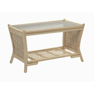 Ernestine Natural Coffee Table With Storage By August Grove