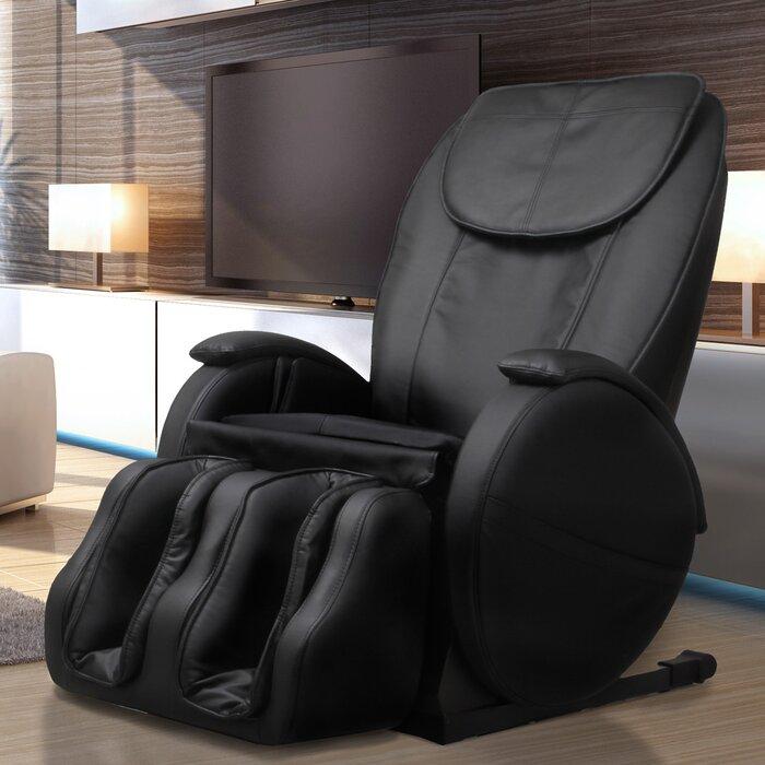 Hampton Edition Faux Leather Zero Gravity Massage Chair