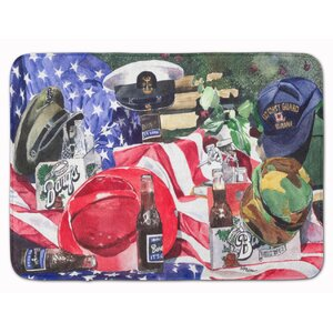 Barq's and Armed Forces Memory Foam Bath Rug