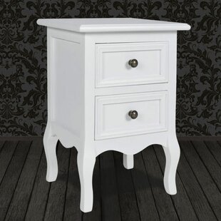 Anner 2 Drawer Bedside Table By Brambly Cottage