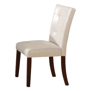 Murphysboro White/Walnut Side Chair (Set ..