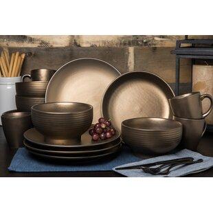 Schlosser 16 Piece Dinnerware Set, Service for 4