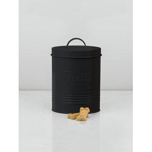 Metal 2.25 qt. Pet Treat Jar