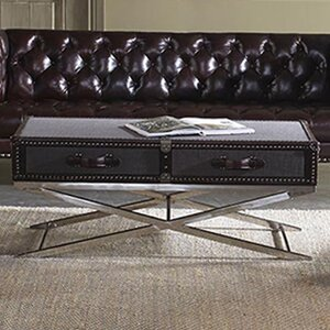 Hamilton Coffee Table by Lazzaro Leather