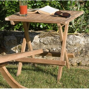 Woodland Picnic Teak Dining Table By Sol 72 Outdoor