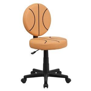 Lynda Basketball Mid-Back Kids Desk Chair by Zoomie Kids