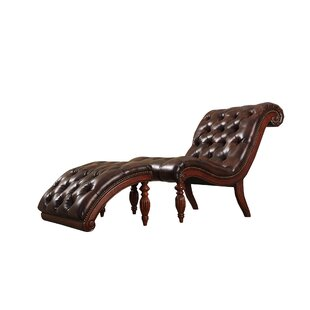 Ohlone Chaise Lounge and Ottoman Set