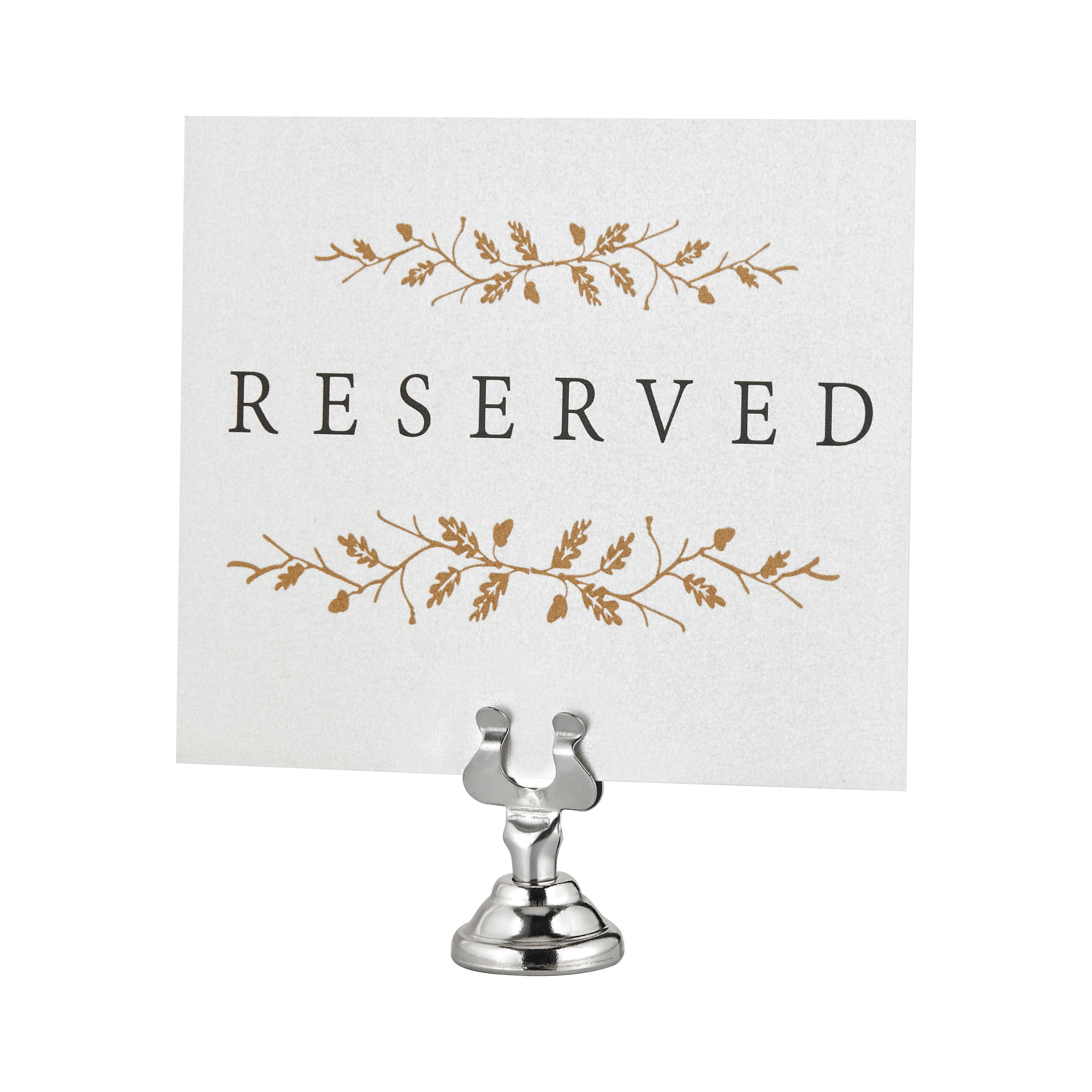 Stainless Steel Place Card Holders Cheese Markers You Ll Love In 2021 Wayfair