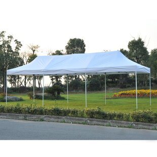 29 Ft. W x 10 Ft. D Metal Party Tent Canopy by Outsunny