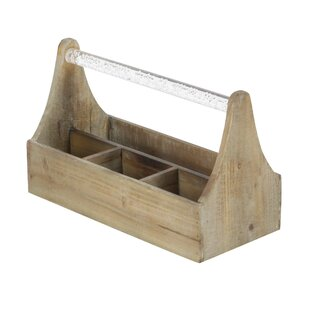 Ornelas Farmhouse Rectangular Wooden 4 Bo..