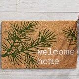 Pine Welcome 28 x 18 Indoor Door Mat