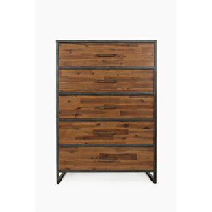 Read Reviews Lonan 5 Drawer Chest by 17 Stories