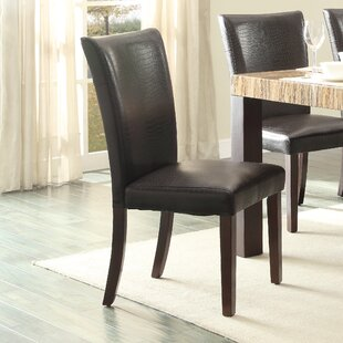 World Menagerie Asloune Dining Chair (Set of 2)