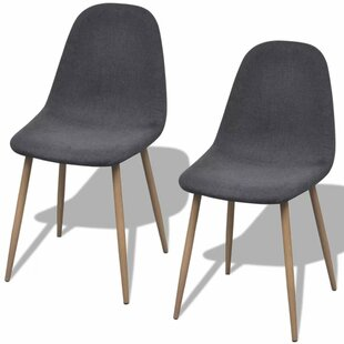 Parkman Upholstered Dining Chair (Set of 2) Gracie Oaks