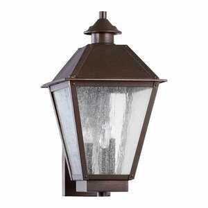 Emile 3-Light Outdoor Sconce