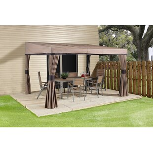 Palm Spring 12 Ft. W x 10 Ft. D Aluminum Sun Shelter by Sojag