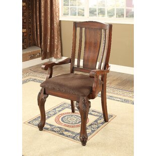 Choe Solid Wood Dining Chair by Fleur De Lis Living