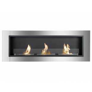 Adalene Wall Mounted Ethanol Fireplace By Orren Ellis
