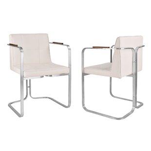 Varga Upholstered Dining Chair (Set of 2) by Orren Ellis