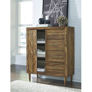 Wrought Studio Lund 4 Drawer Chest