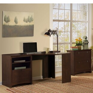 Fralick 2 Piece L-Shape Desk Office Suite by Darby Home Co