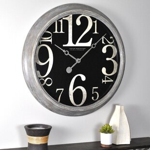 24 Inch Wall Clock | Wayfair Nice Look