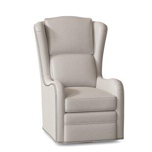 Farrah Swivel Wingback Chair by BradingtonYoung