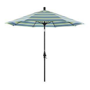 Muldoon 9' Market Sunbrella Umbrella by Beachcrest Home
