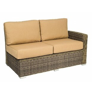 Woodard Bay Shore Right Arm Loveseat Sectional Piece with Cushions
