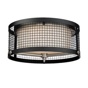 Ivy Bronx Didama 3-Light Flush Mount