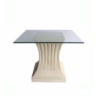 Cleora Glass Dining Table by Astoria Grand